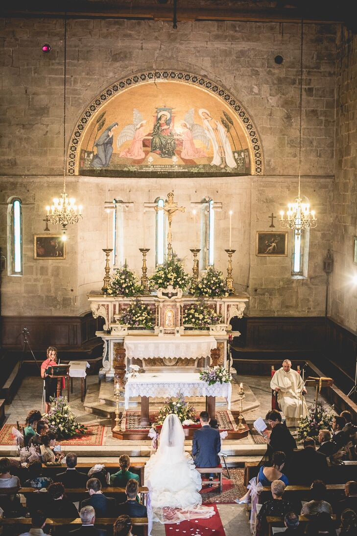 Church of San Frediano Ceremony in Lucca, Italy