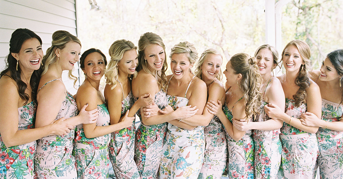 No, There's No Such Thing As Too Many Bridesmaids