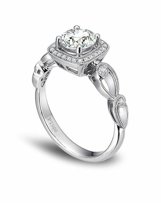 Platinum Engagement and Wedding Ring Must-Haves Simon G. Platinum and Diamond Engagement Ring Engagement Ring photo