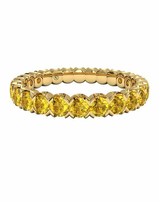 Ritani Classic Yellow Sapphire Stackable Band in 18kt Yellow Gold Wedding Ring photo