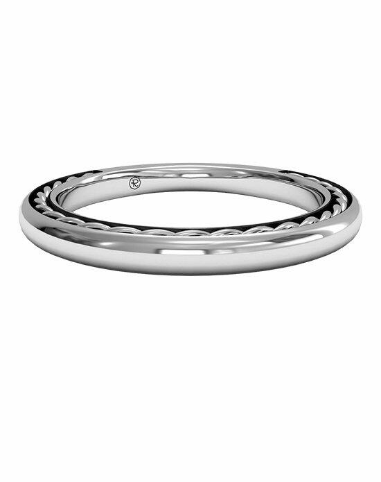 Ritani Women's Classic Braided Wedding Band in 14kt White Gold Wedding Ring photo
