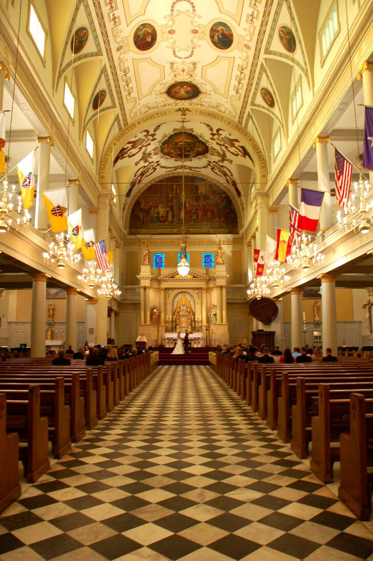St. Louis Cathedral Wedding in New Orleans, Louisiana