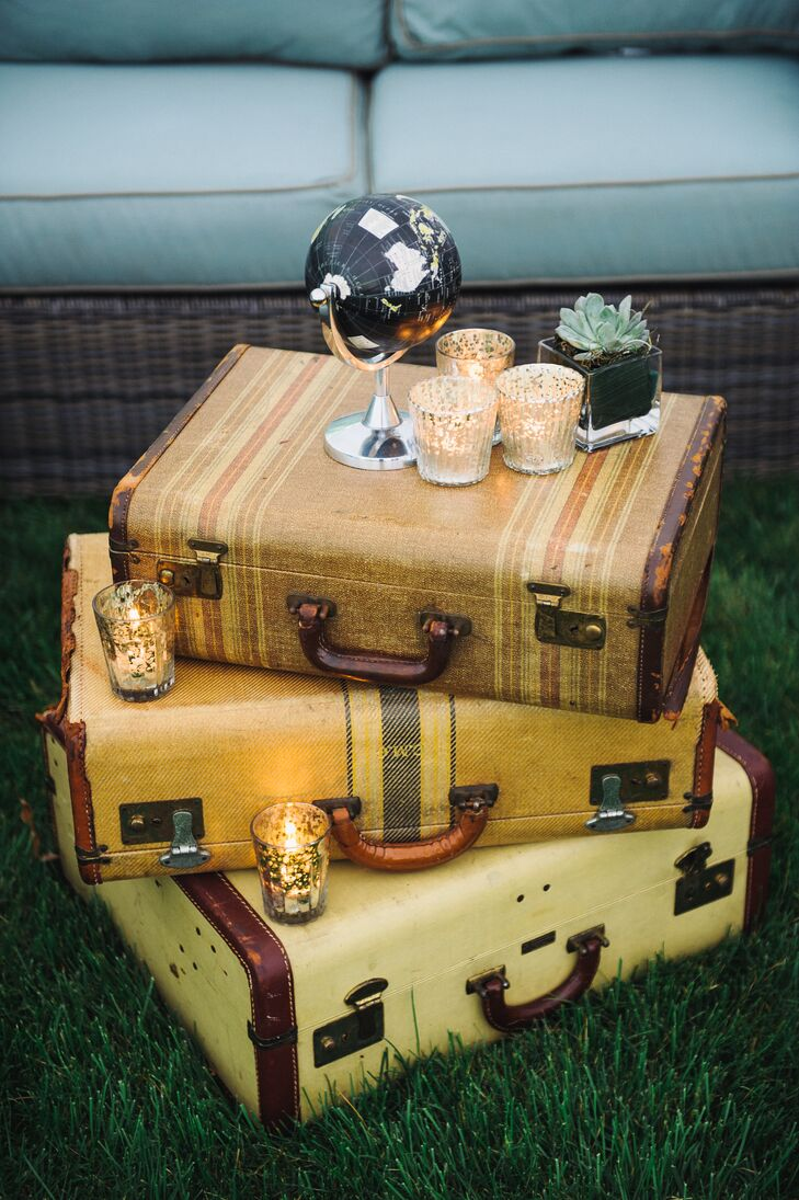 Vintage Suitcase Lounge Table