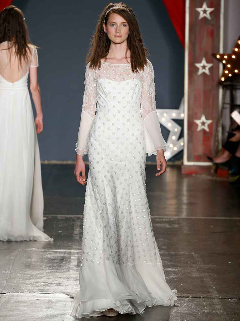Jenny packham spring 2018 collection bridal fashion week for Jenny packham sale wedding dresses
