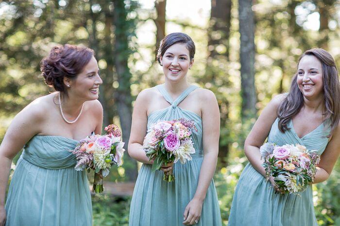 Mint J. Crew Bridesmaid Dresses