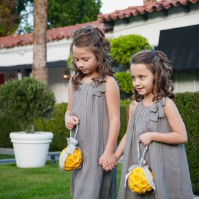 Yellow flower girl dresses jew gray flower girl dresses mightylinksfo