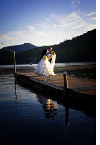 Rumbling Bald Resort Blue Ridge Mountain Weddings Lake