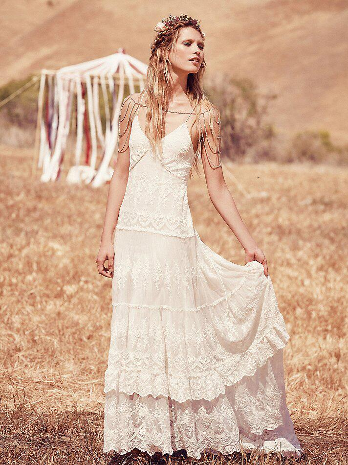 Free people launches wedding dresses for Wedding dress images free