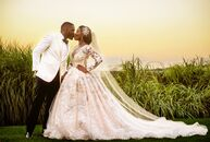 Nkenna Anagboso (30 and a pharmacist) and Ekwere Ekpo (32 and a pharmacist) pulled off a glamorous blowout bash for their late-summer wedding in New R