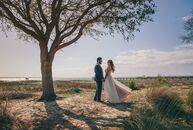 Kelly Poulnot (27 and an operations analyst) and Karan Kumar (27 and a financial analyst) infused their Charleston wedding with Indian cultural elemen
