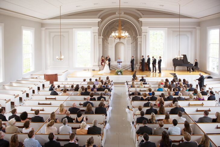 Old Whaling Church Wedding Ceremony