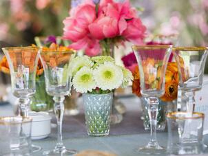 Real weddings real wedding photos a vibrant garden wedding at a private villa in marbella spain junglespirit Images