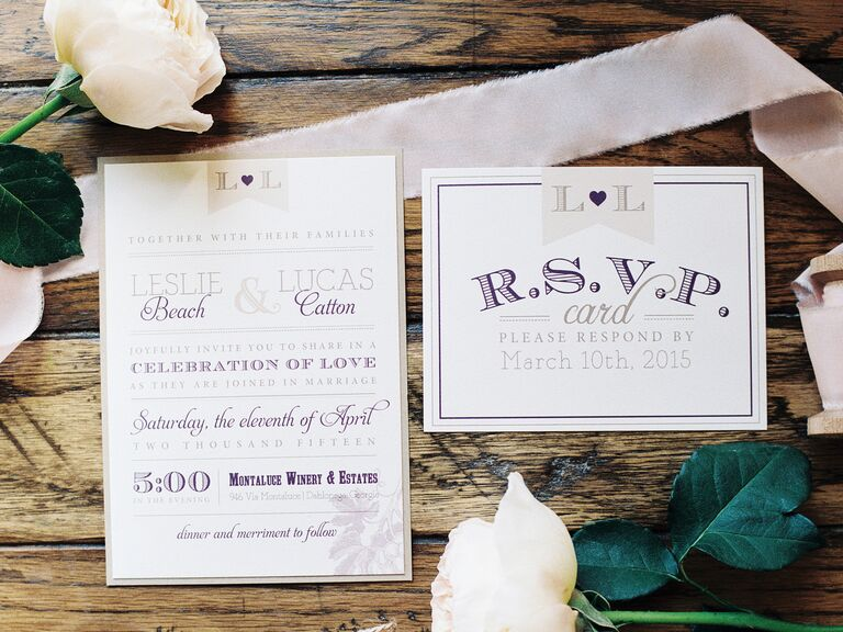 How Soon Before A Wedding Should You Send Out Invitations: Q&A: How Much Time Should We Allow For RSVPs?