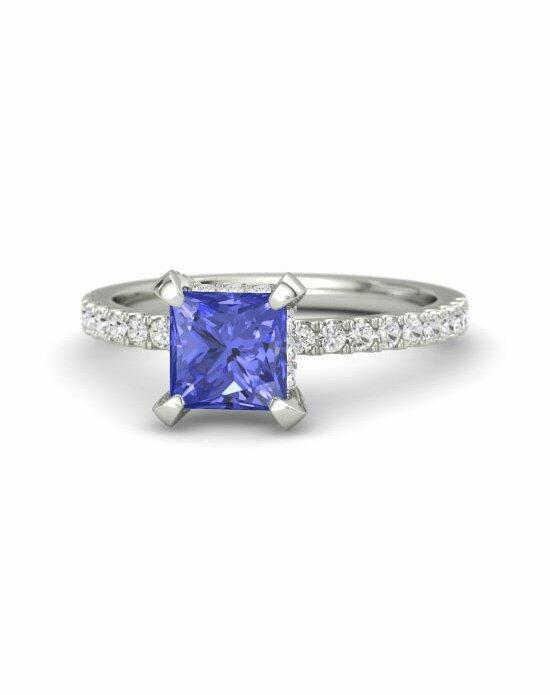 Gemvara - Customized Engagement Rings Carrie Princess Ring Engagement Ring photo