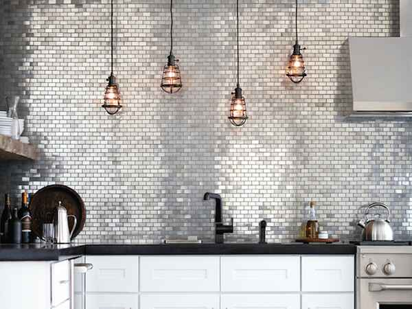 Tiles aren't just for backsplashes and bathrooms anymore. Tile has the potential to totally transform a room.