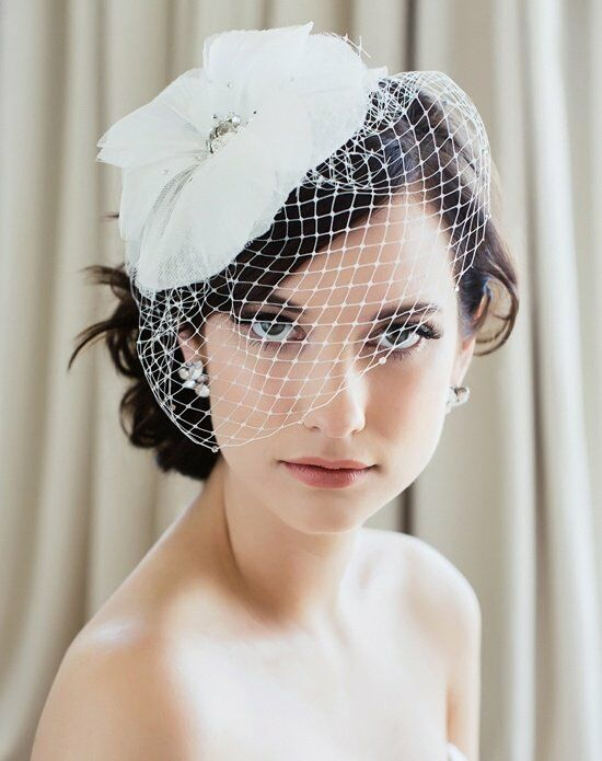 Sara Gabriel Ione Veil Wedding Accessory photo