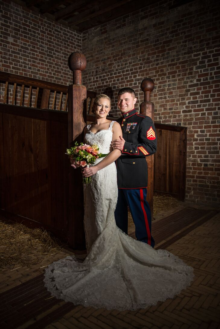 Thera and Sam's Operation Marry Me Military Wedding