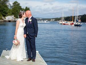 A Romantic Vintage Morning Wedding At Royal Nova Scotia Yacht Squad In Halifax