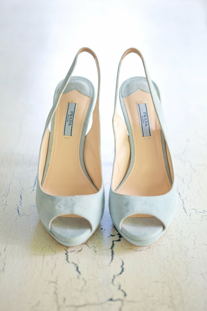 prada wedding shoes light blue prada bridal shoes 6742