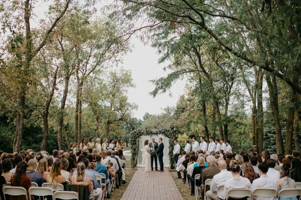Tree-Lined Lawn Ceremony