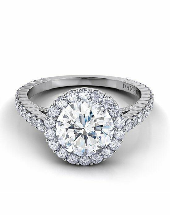 Danhov Carezza Halo Engagement Ring Engagement Ring photo