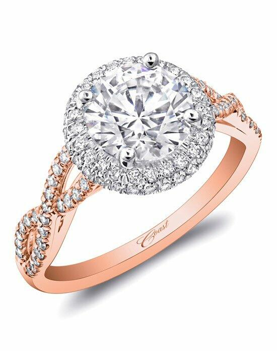 Coast Diamond Rose Gold Collection - LC5438 Engagement Ring photo