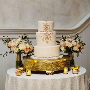 Gold Wedding Cakes - Gold Wedding Cakes
