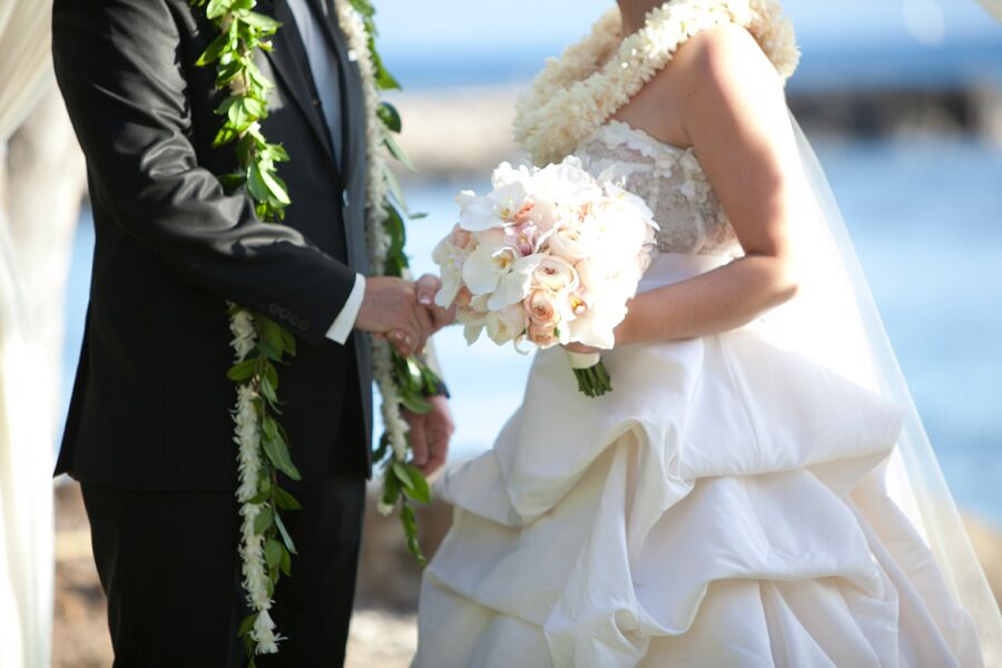 Traditional Hawaiian Wedding Gifts: Traditional Leis Hawaiian Ceremony At Wedding