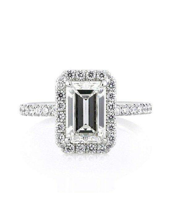 Mark Broumand 2.65ct Emerald Cut Diamond Engagement Ring Engagement Ring photo