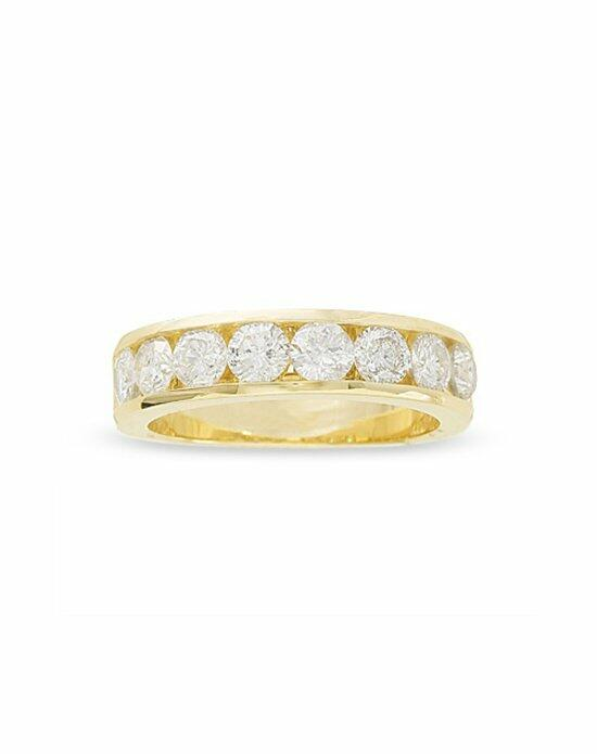 Zales 1-1/2 CT. T.W. Diamond Channel Band in 14K Gold 17713629 Wedding Ring photo