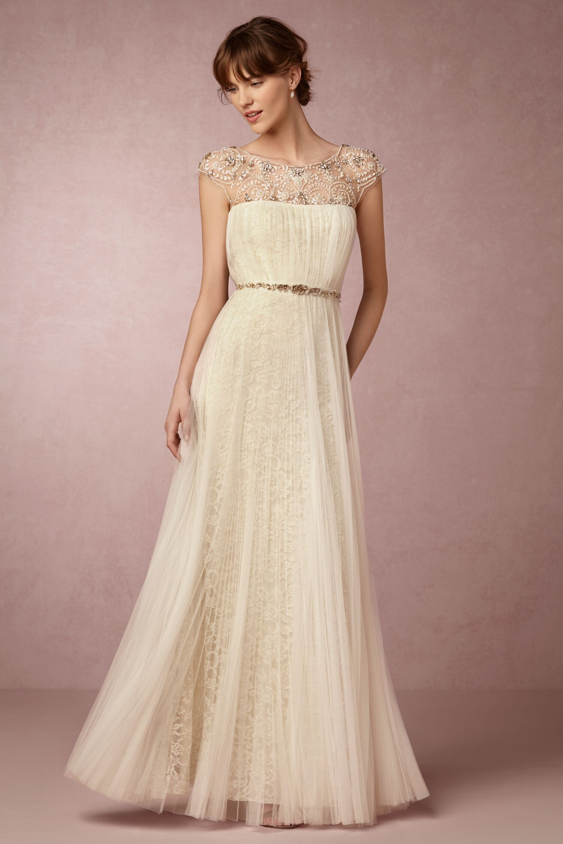 12cc10e7 We're Obsessed with Marchesa & BHLDN's Capsule Collection