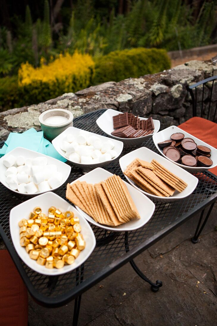 Reception S'mores Bar