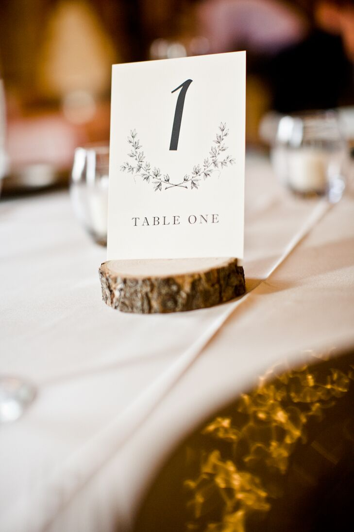 Classic BlackandWhite Table Numbers - Table numbers restaurant supplies